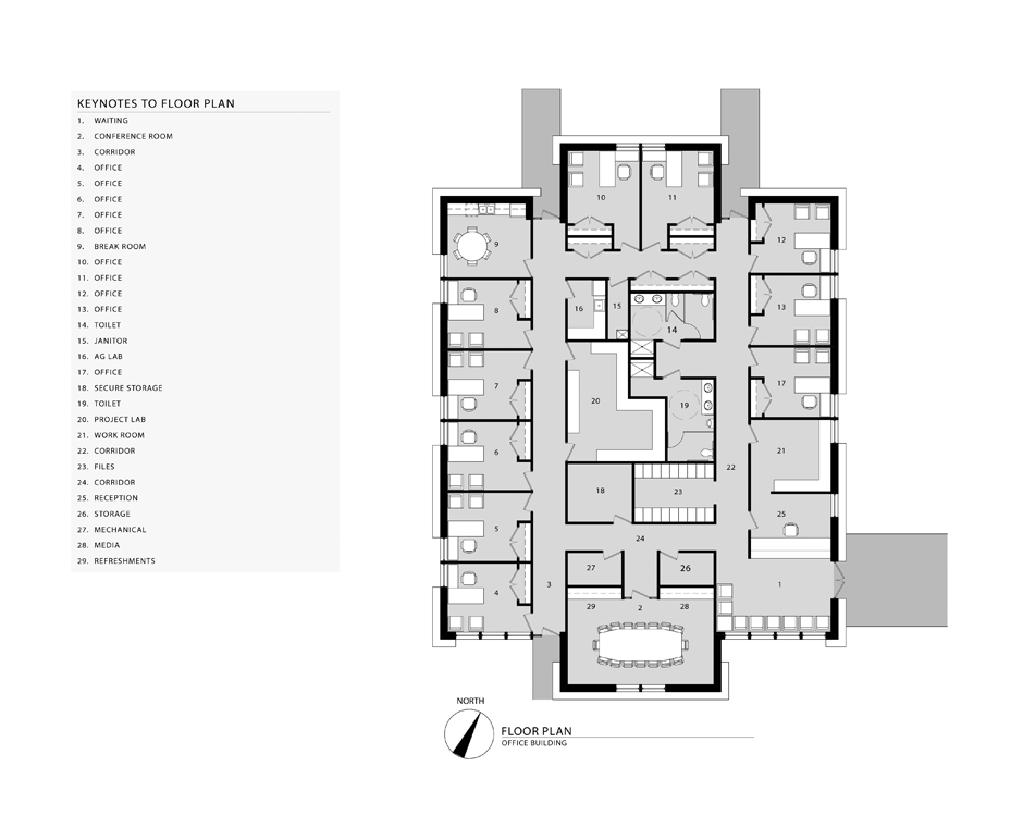 114 Office Building Floor Plans - office floor plan recherche google ...